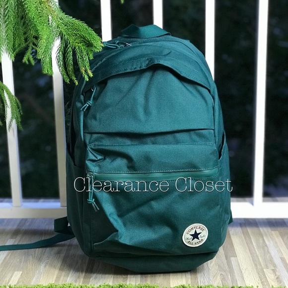 d9343ae604b1 Converse Poly Chuck Plus 1.0 Backpack Green Unisex